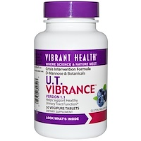 U.T. Vibrance, версия 1.1, 50 чистых вегетарианских таблеток - фото