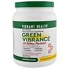 Vibrant Health, Green Vibrance +250億プロバイオティクス、バージョン16.0, 35.27 oz (1 kg)