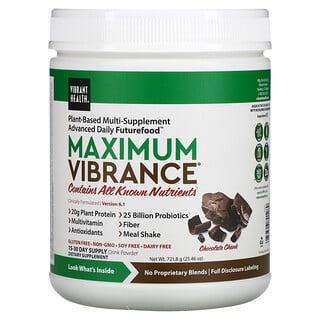 Vibrant Health, Maximum Vibrance, Version 6.1, Chocolate Chunk, 25.46 oz (721.8 g)