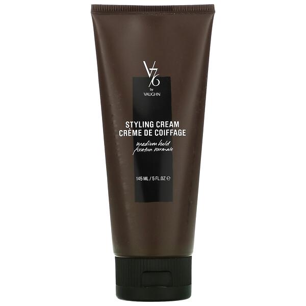 V76 By Vaughn, Styling Cream, Medium Hold,  5 fl oz (145 ml) (Discontinued Item)
