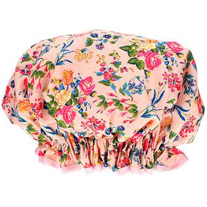 The Vintage Cosmetic Co., Shower Cap, Pink Floral Satin, 1 Count отзывы покупателей