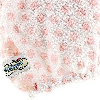 The Vintage Cosmetic Co., Hair Turban, Pink Polka Dot, 1 Count