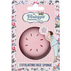 The Vintage Cosmetic Co., Exfoliating Face Sponge, Pink, 1 Count