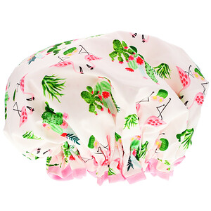 The Vintage Cosmetic Co., Shower Cap, Cactus and Kisses, 1 Count отзывы