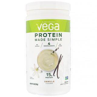 Vega, Protein Made Simple, Vanilla, 9.2 oz (259 g)