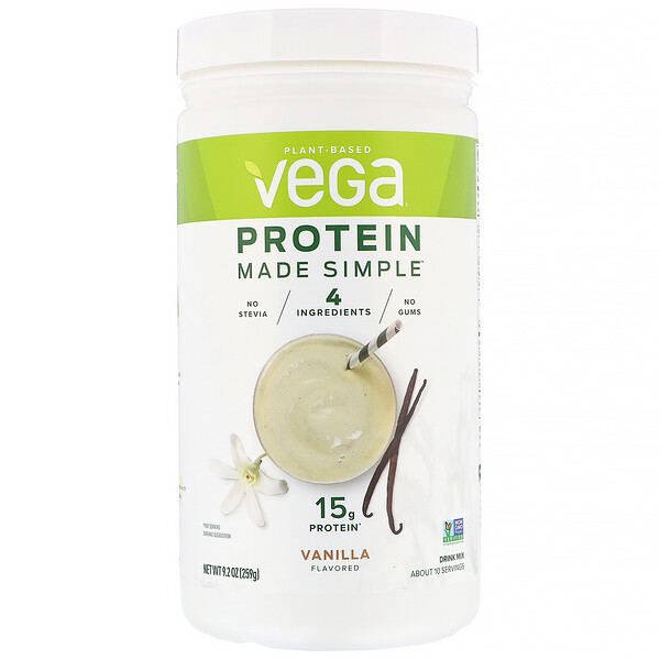 Protein Made Simple, Vanilla, 9.2 oz (259 g)