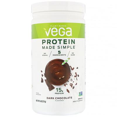 Купить Vega Protein Made Simple, протеин, черный шоколад, 271 г (9, 6 унции)