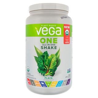 Vega, Один коктейль все в одном, без подсластителей, 26,9 унц. (763 г)