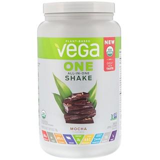 Vega, One, All-in-One Shake, мокка, 25,3 унц. (718 г)
