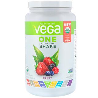 Vega, ワン、オールインワンシェイク、ベリー、24.3 oz (688 g)
