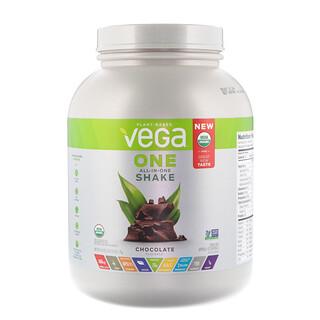 Vega, One, коктейль «все в одном», шоколад, 3 ф (1,7 кг)