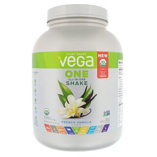 Vega, One, All-In-One Shake, французская ваниль 3 ф. (1,6 кг)