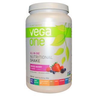 Vega, ヴェガ・ワン シェイク, イチゴ類のミックス, 30 オンス (850 g)