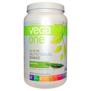 Вега, Vega One, All-In-One Nutritional Shake, Natural, 30.4 oz (862 g) отзывы покупателей
