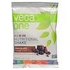 Vega, Vega One, All-in-One Nutritional Shake, Chocolate, 10 Packets, 1.6 oz (46 g) Each (Discontinued Item)