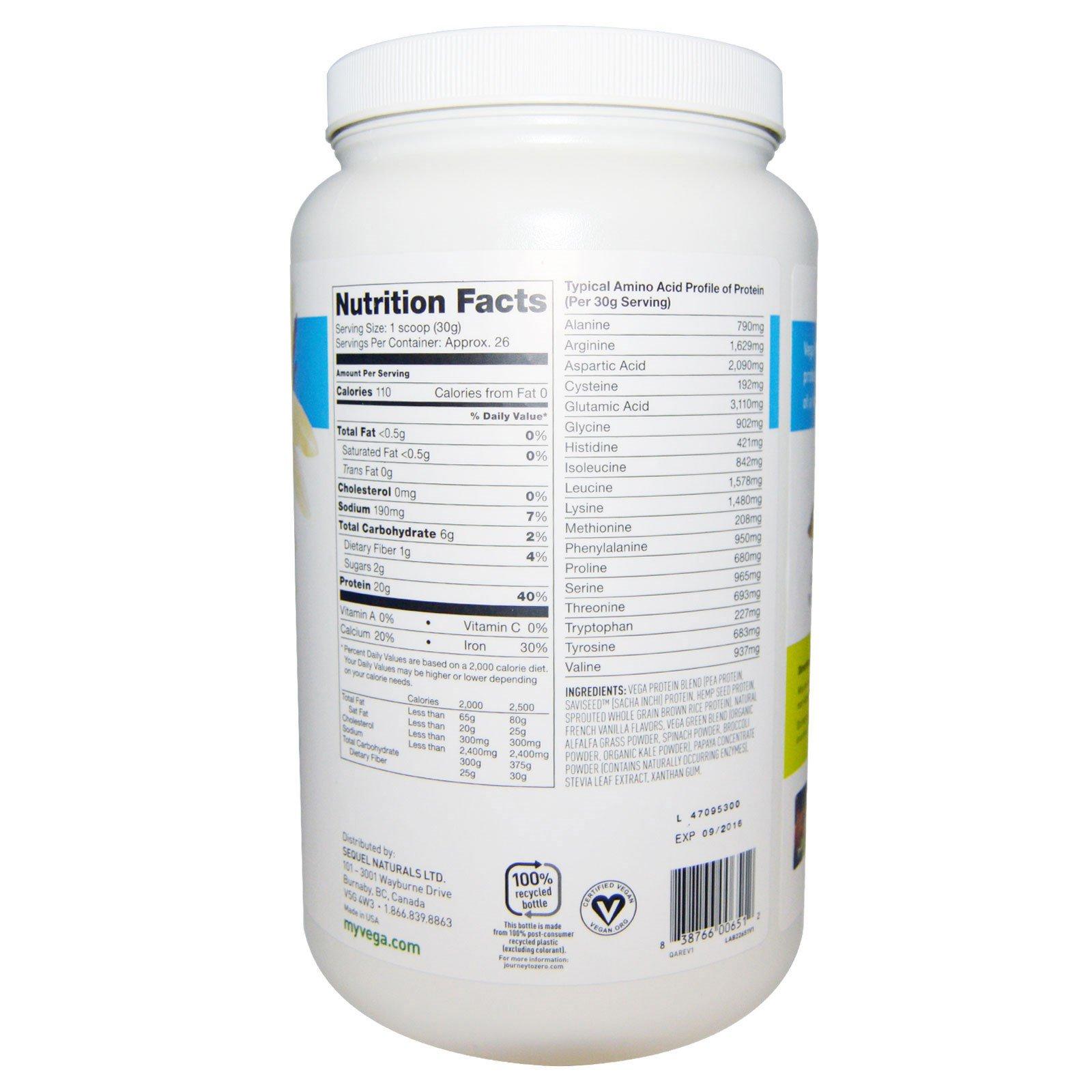 Vega Protein Vanilla