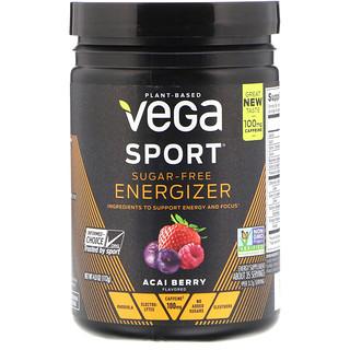 Vega, Sport, Sugar-Free Energizer, Acai Berry, 4.0 oz (112 g)