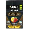 Vega, משקה אנרגיה לספורט, נטול סוכר, תות לימונדה, 30 חבילות, 0.12 אונ' (3.5 ג')