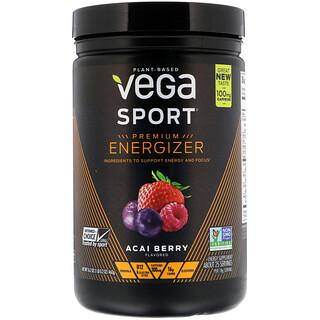 Vega, Sport, Premium Energizer, Acai Berry, 16.2 oz (460 g)