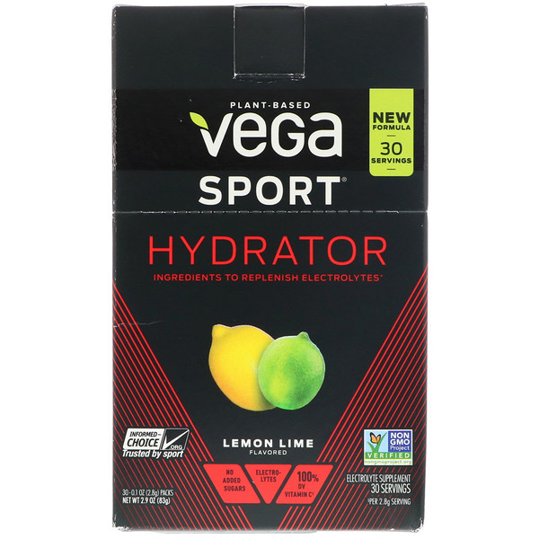 Hydrator, Lemon Lime, 30 Packs, 0.1 oz (2.8 g) Each