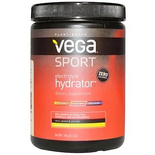 Vega, Спорт, электролитный гидратор, лимон и лайм, 176 г (6,2 унций)