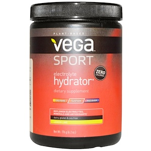 Вега, Sport, Electrolyte Hydrator, Lemon Lime, 6.2 oz (176 g) отзывы