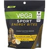 Vega, Sport, Energy Bites, Peanut Butter Banana, 5.6 oz (160 g)