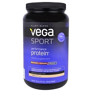Вега, Sport, Performance Protein, Powder, Vanilla Flavor, 29.2 oz (829 g) отзывы покупателей
