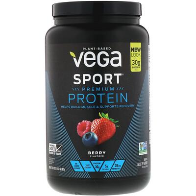 Фото - Sport, белковая смесь премиум-качества, со вкусом ягод, 801 г (28,3 унции) sport белковая смесь премиум качества со вкусом ягод 801 г 28 3 унции