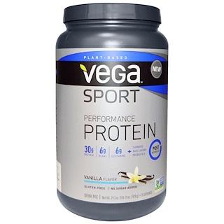 Vega, Sport Performance Protein, Vanilla Flavor, 29.2 oz (828 g)