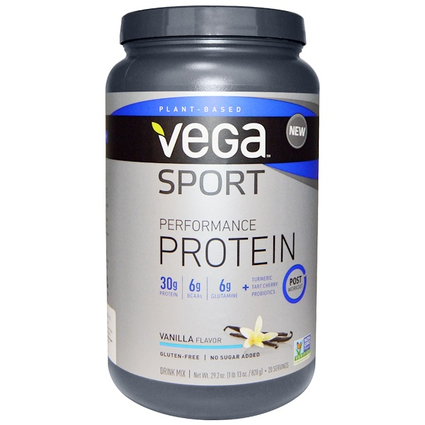 Vega, Sport Performance Protein, Vanilla Flavor, 29、2 oz (828 g)
