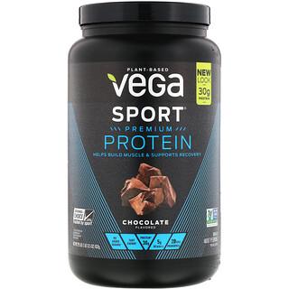 Vega, Proteína Sport Premium, Chocolate, 29.5 oz (837 g)
