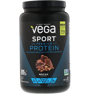 Vega, Sport Premium Protein, Mocha, 1 lb (13 oz)