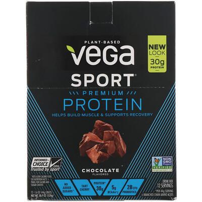 Купить Protein, Chocolate, 12 Pack, 1.6 oz (44 g) Each