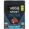 Vega, Sport Premium Protein, Chocolate Flavored, 12 Packets, 1.6 oz (44 g) Each