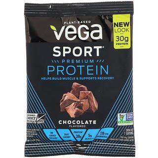 Vega, Sport Premium Protein, Chocolate, 1.6 oz (44 g)