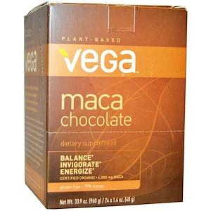 Вега, Maca Chocolate Bar, 24 Bars, 1.4 oz (40 g) Each отзывы