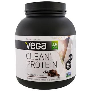Vega, Clean Protein, Chocolate Flavor, 58.5 oz (1.66 g)