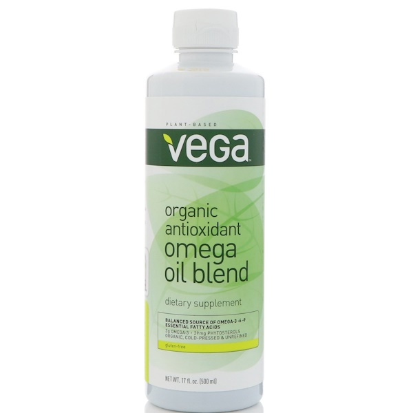 Vega, Organic Antioxidant Omega Oil Blend, 17 fl oz (500 ml)