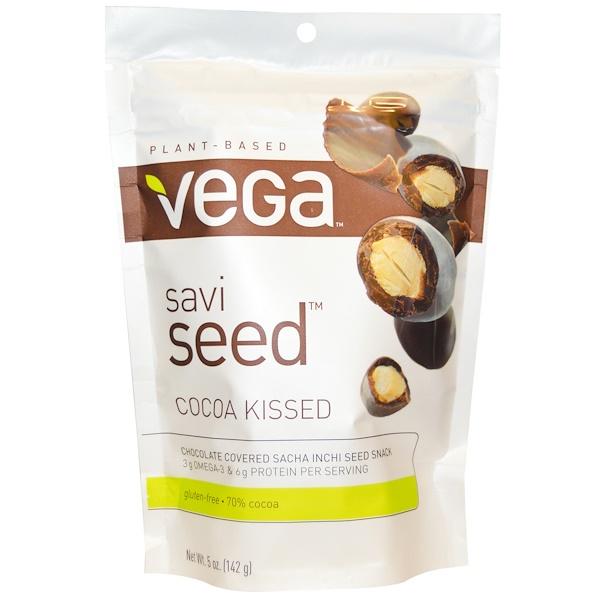Vega, Savi Seed, Cocoa Kissed, 5 oz (142 g) (Discontinued Item)