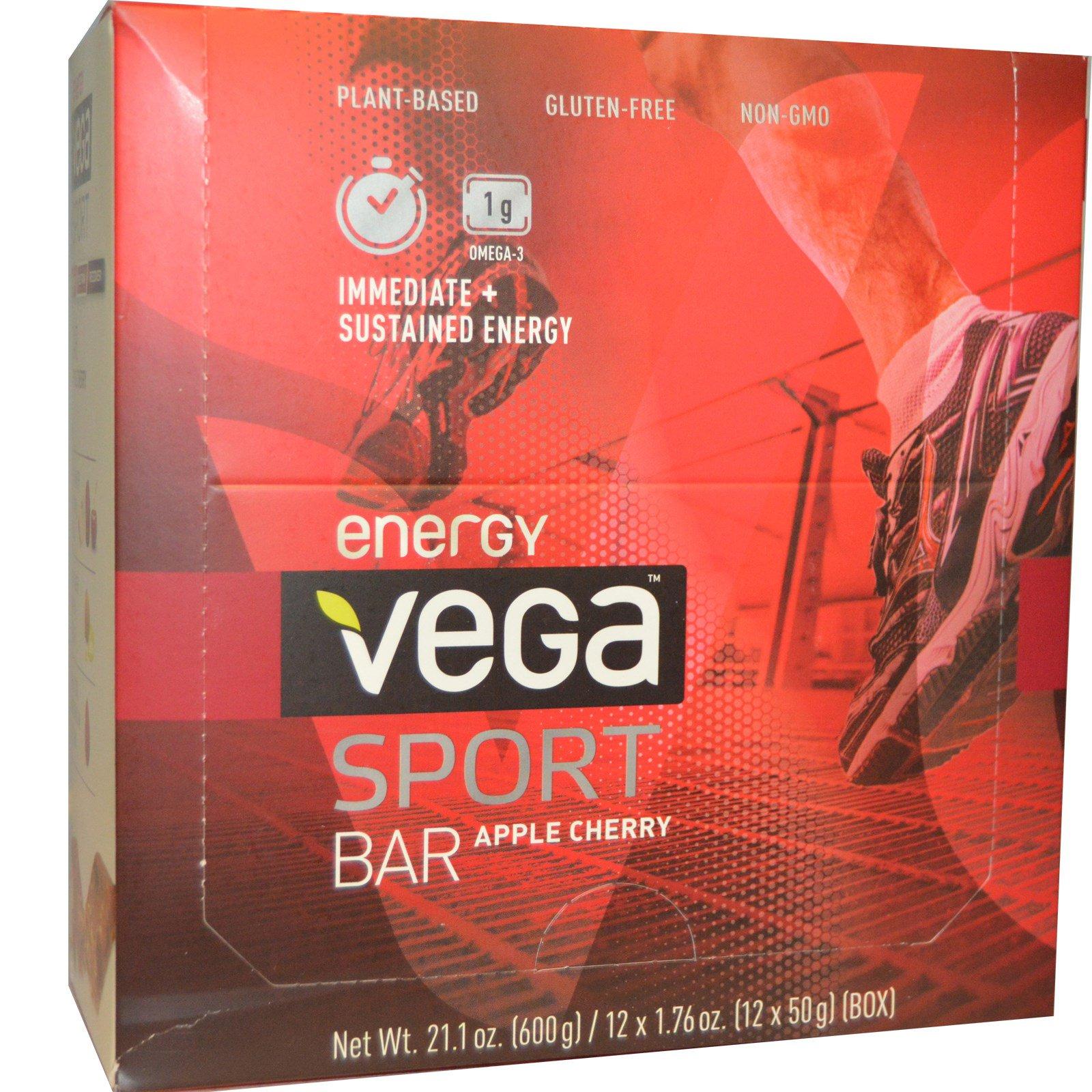 Vega energy bars