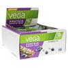 Vega, Протеиновый батончик, черника-овес, 12 штук, 1,6 унции (45 г) каждый