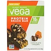 Vega, Protein Snack Bar, Chocolate Caramel, 4 Bars, 1.6 oz (45 g) Each