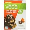 Vega, Протеиновый батончик, шоколадная карамель, 4 шт., 1,6 унции (45 г) каждая