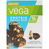 Vega, Snack Bar, Chocolate Peanut Butter, 4 Bars, 1.6 oz (45 g) Each