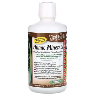Vital Earth Minerals, Humic Minerals, 32 fl oz (946 ml)
