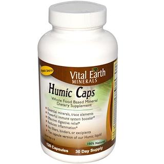 Vital Earth Minerals, Humic Caps, 120 Capsules