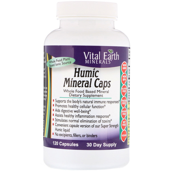 Humic Mineral Caps, 120 Capsules