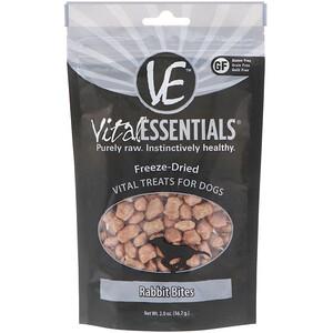 Vital Essentials, Freeze-Dried Vital Treats For Dogs, Rabbit Bites, 2.0 oz (56.7 g) отзывы