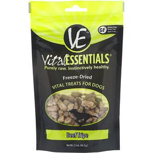 Vital Essentials, Freeze-Dried Treats For Dogs, Beef Tripe, 2.3 oz (65.2 g) отзывы
